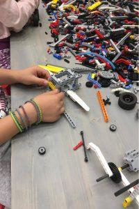 Χώροι Τρίλιζα - Making with Lego