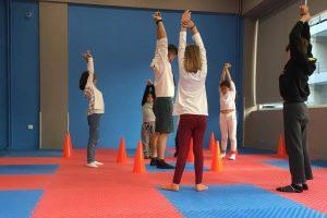Χώροι Τρίλιζα - Γυμναστική διατάσεις